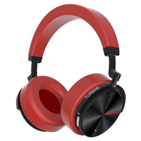 Image of Red / United States Bluetooth Wireless Noise Cancelling Headphones with microphone