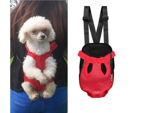 Image of Small Dog Carrier Backpack leopard / S Small Dog Carrier Backpack