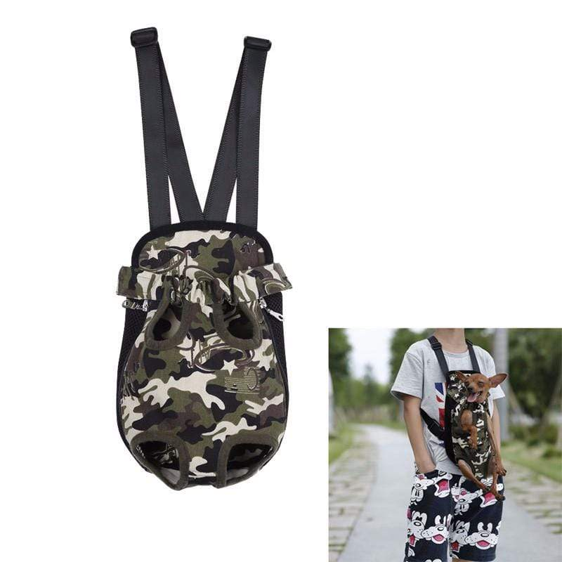 Small Dog Carrier Backpack leopard / S Small Dog Carrier Backpack