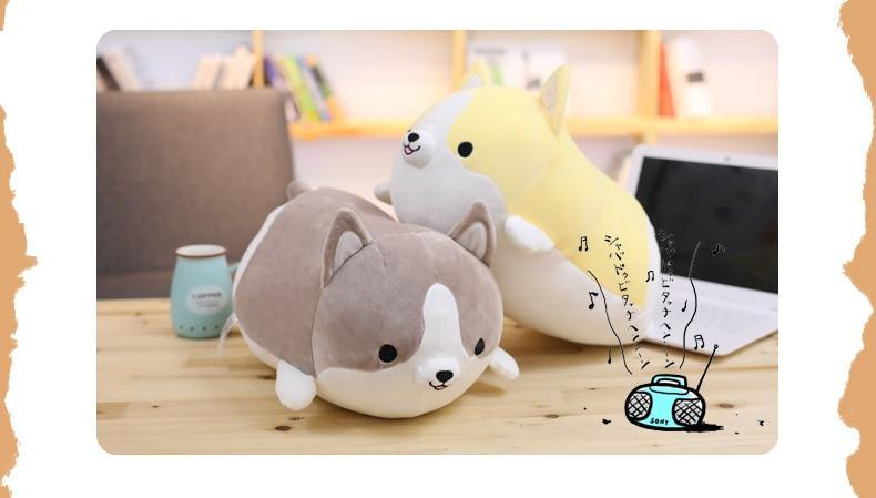 Squishy Wishy Stuffed Animal Gray / 30CM / 11 inch Squishy Wishy Pillow