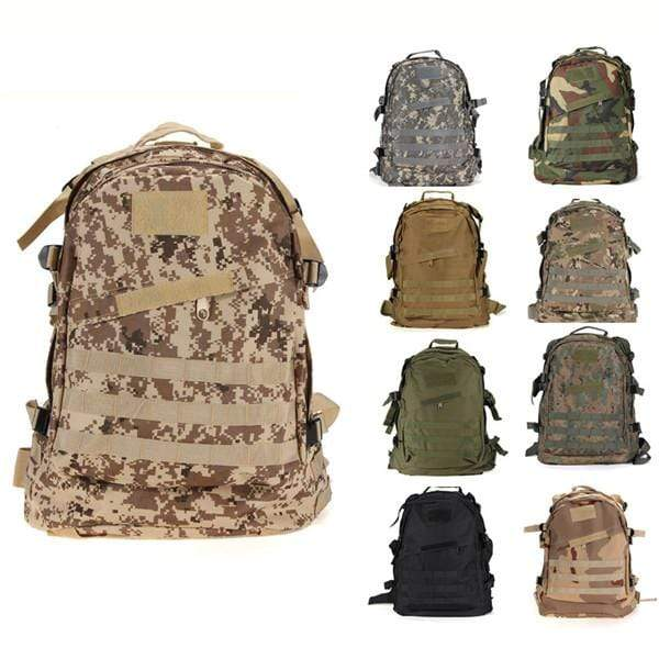 Tactical Backpack ACU / 50 - 70L Military Tactical Backpack