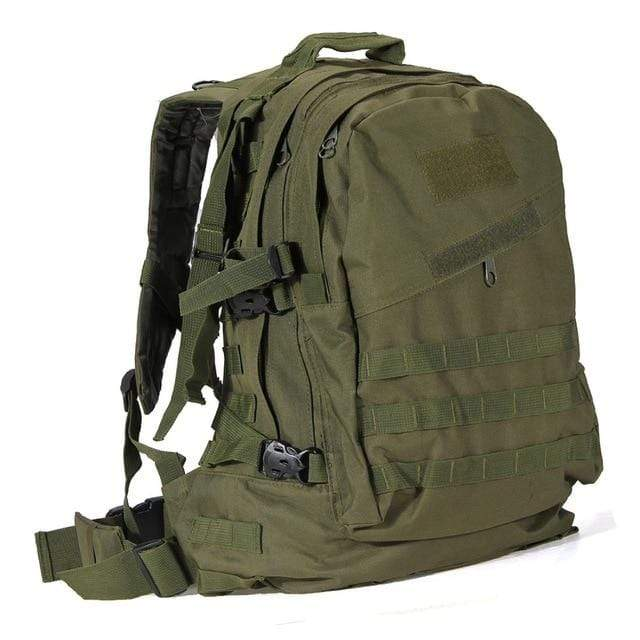 Tactical Backpack ArmyGreen / 50 - 70L Military Tactical Backpack