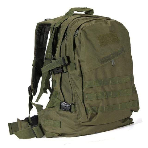 Image of Tactical Backpack ArmyGreen / 50 - 70L Military Tactical Backpack