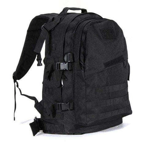 Image of Tactical Backpack Black / 50 - 70L Military Tactical Backpack