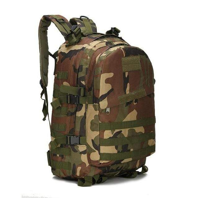 Tactical Backpack Jungle Camouflage / 50 - 70L Military Tactical Backpack