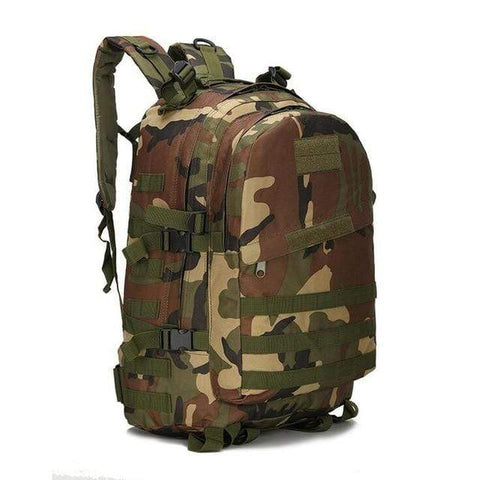 Image of Tactical Backpack Jungle Camouflage / 50 - 70L Military Tactical Backpack
