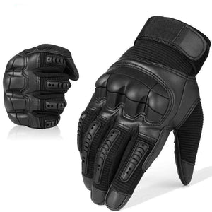 Tactical Hard Knuckle Touch Screen Survival Gloves