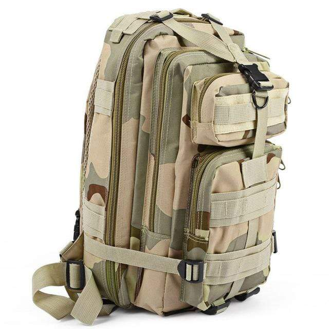 THREE SAND CAM / 30 - 40L Military Rucksack