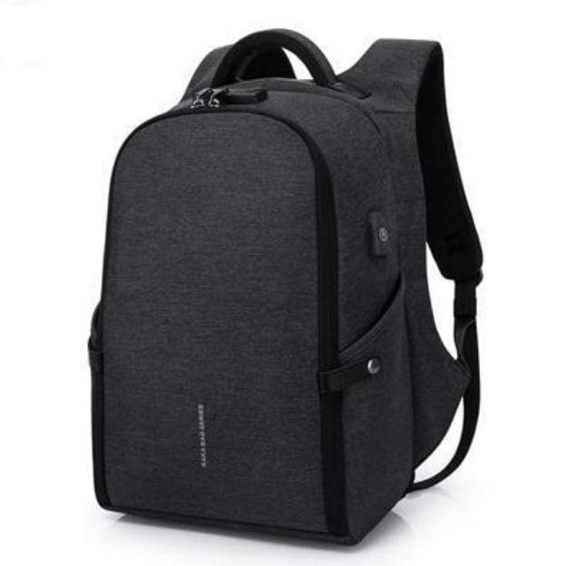 Travel Bag Anti-theft Backpack black Best Anti Theft Charging Backpack