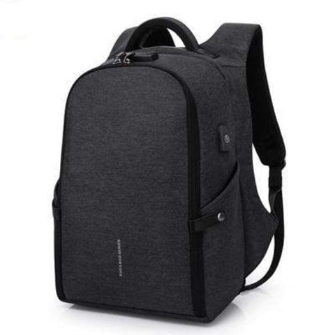 Image of Travel Bag Anti-theft Backpack black Best Anti Theft Charging Backpack