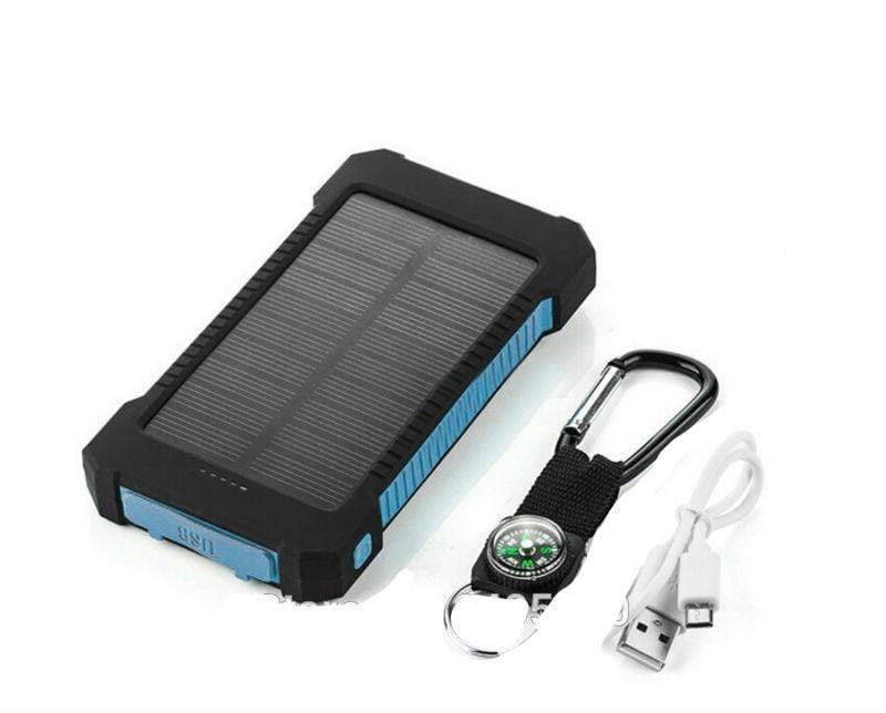 USB Dual Solar Charger United States / Green Solar Powered Phone Charger Dual USB