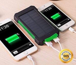 Solar Powered Phone Charger Dual USB