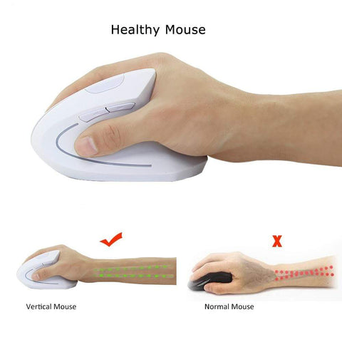Vertical Mouse Black Best Ergonomic Vertical Mouse