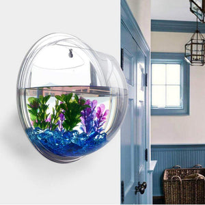 Wall Mounted Fish Bowl Tank