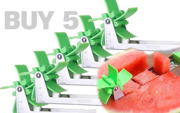 Watermelon Cuber Slicer BUY 5 SAVE 75% OFF Watermelon Cuber