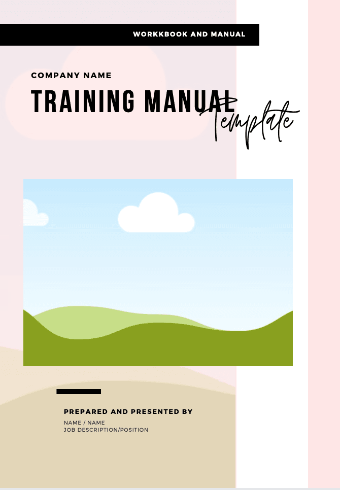 Business Workbook/ Manual Template - Lash'd Eyelashes