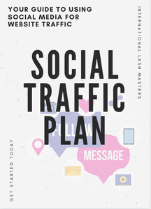 FREE E-Book - Social Media Traffic Plan - Lash'd Eyelashes