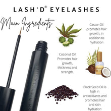 LASH'D Lash Growth Serum - Lash'd Eyelashes