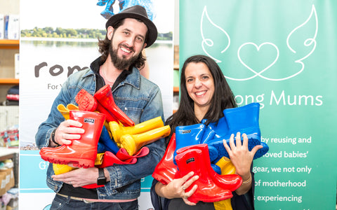 ROMA Boots Partners With Geelong Mums
