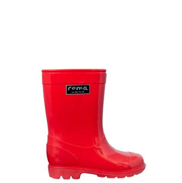 Abel Youth Red Rain Boots