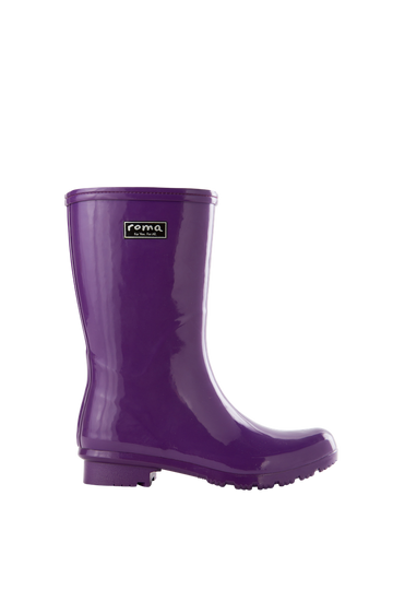Emma Mid Purple Women's Rain Boots