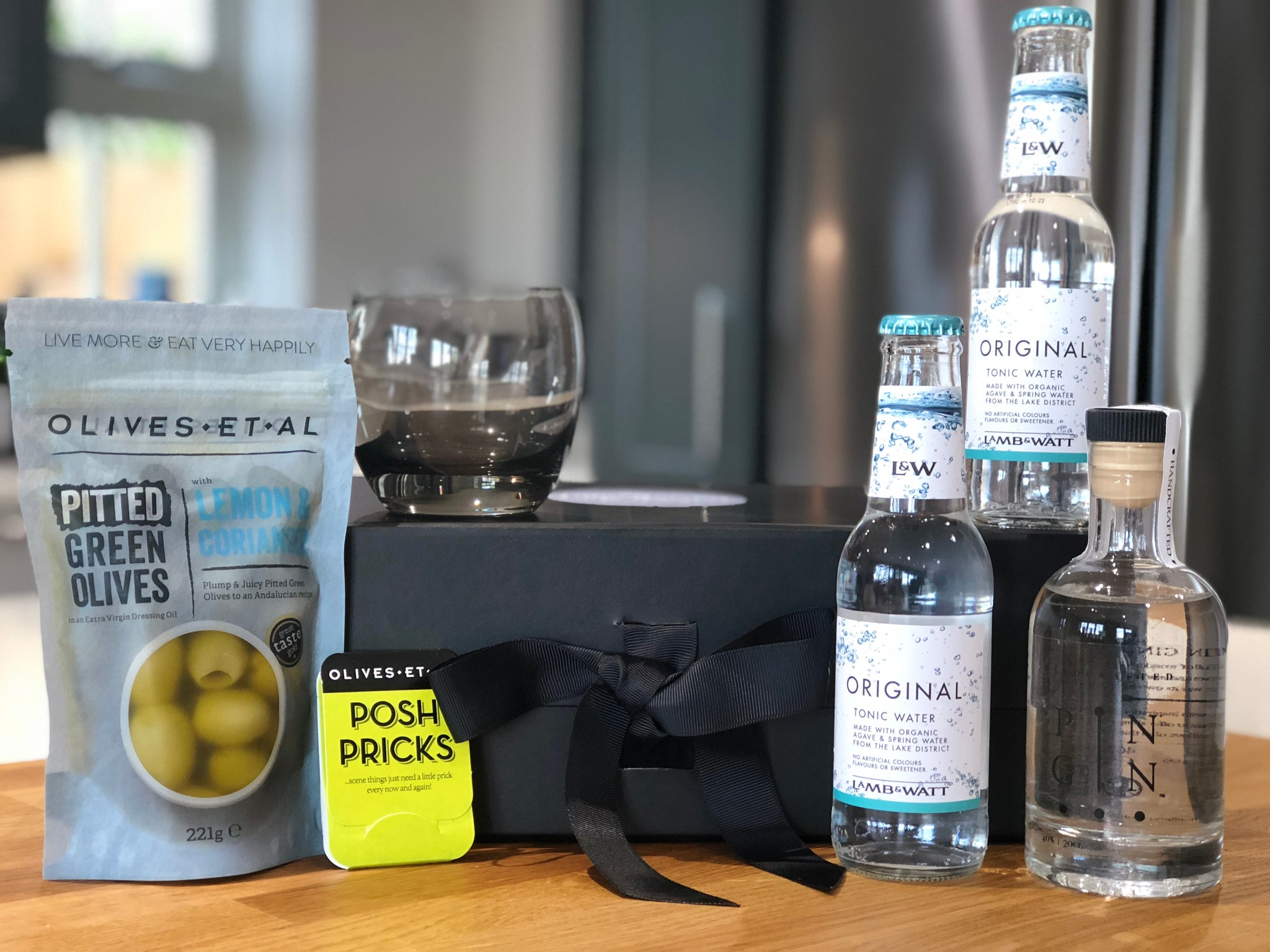 Gentleman's Gin and Tonic Hamper