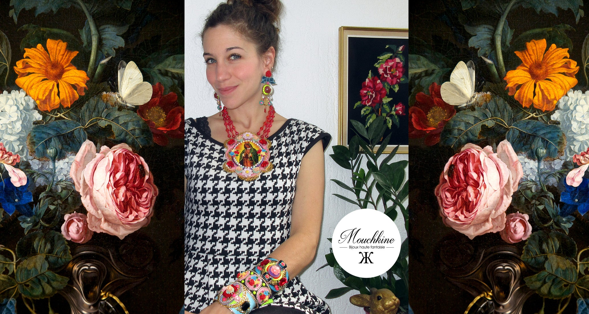 mouchkine jewelry fashion designer anne-christine Nadal, handmade and made in france jewels