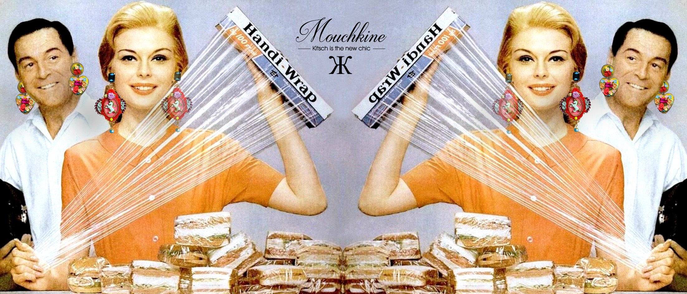 mouchkine jewelry art of kitsch and chic jewels for a unique sophisticated and classy fashion style.