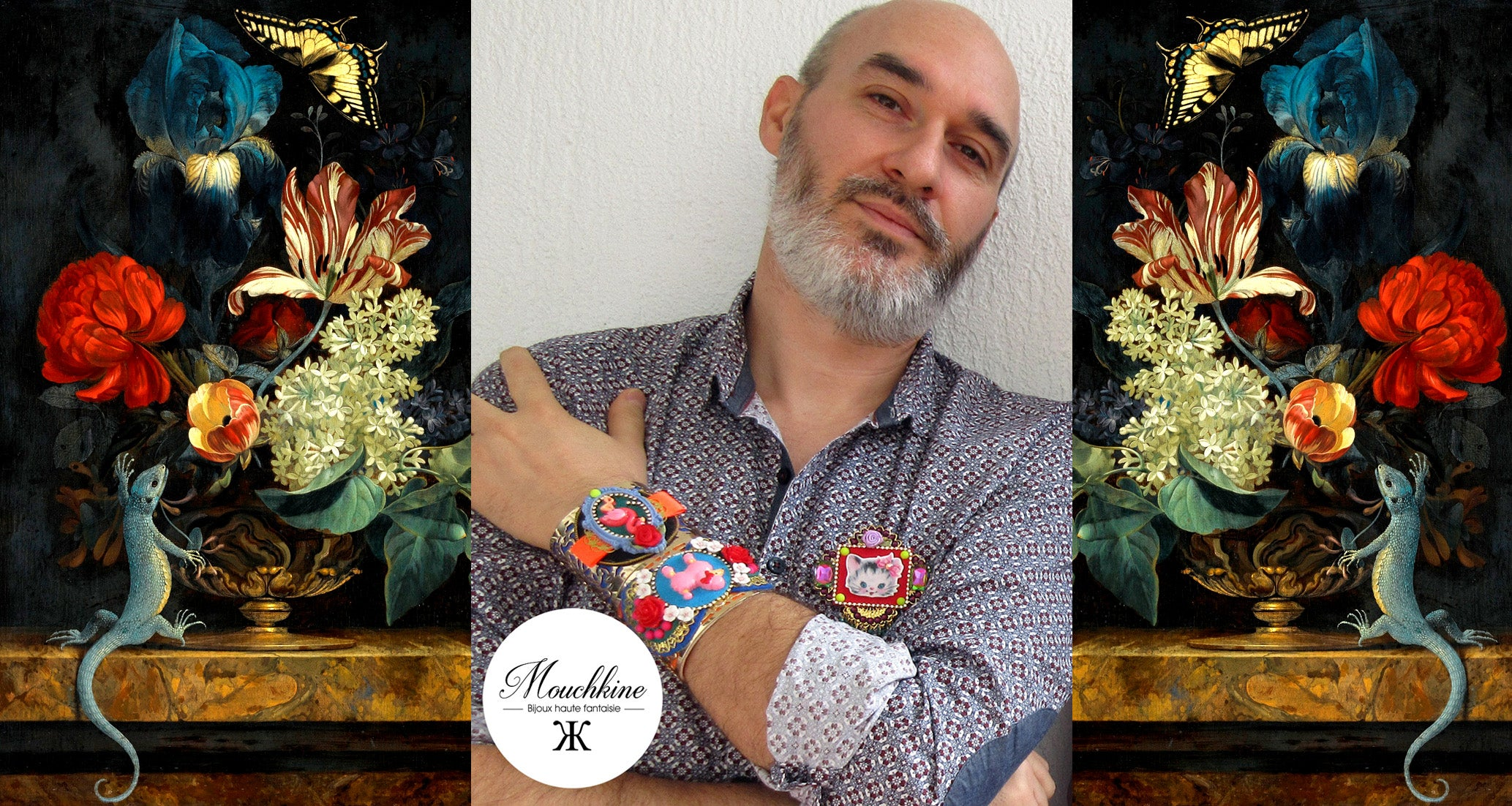 mouchkine jewelry art director jean-marie Boillot, handmade and made in france jewels