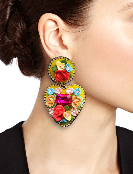 mouchkine jewelry joli coeur earrings, fashion trend and style for fun