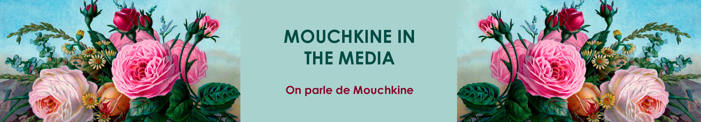 mouchkine jewerly creations in the medias - les bijoux mouchkine dans la presse, articles de magasines.