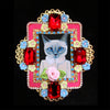 Mouchkine Jewelry chic and couture statement cat Brooch.