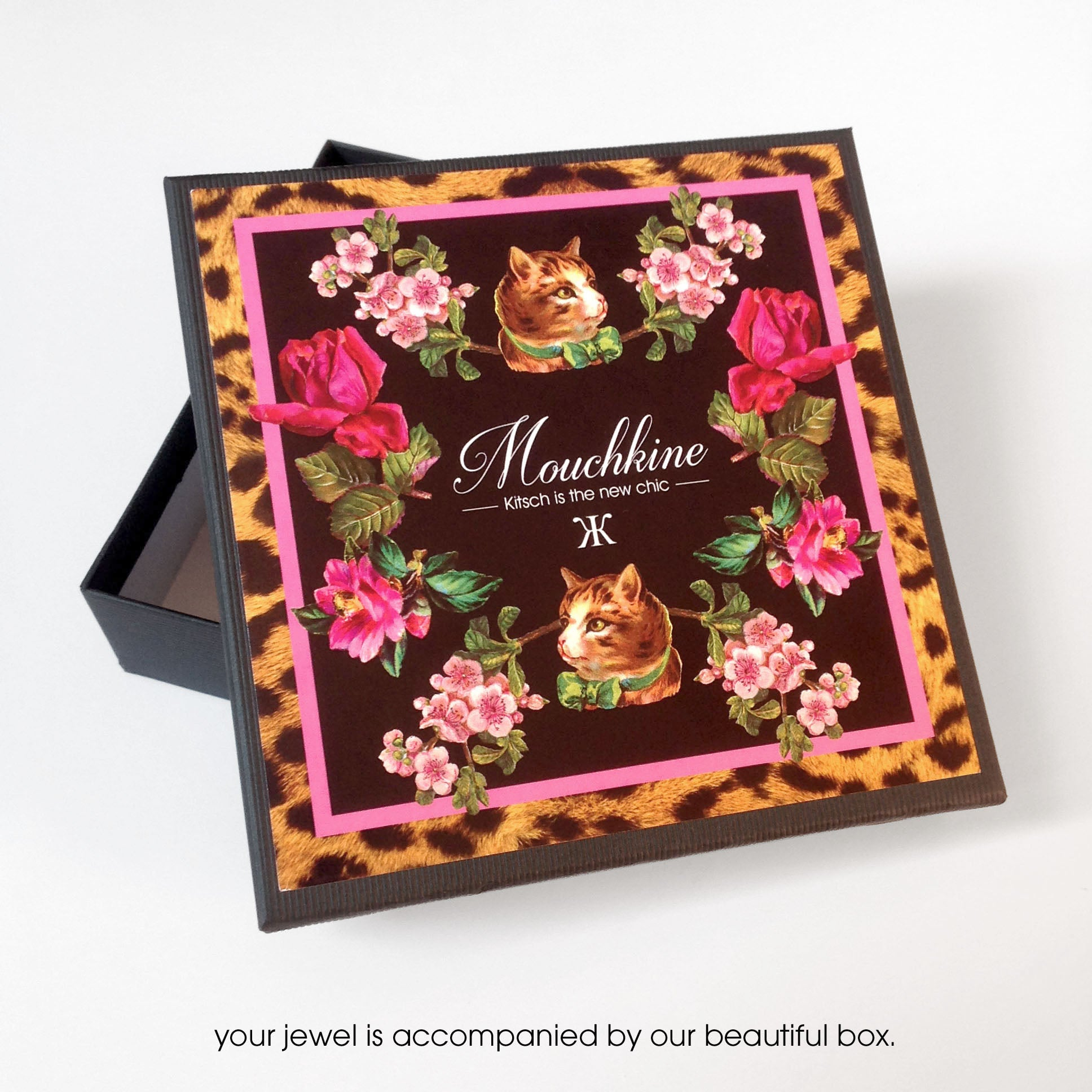 Mouchkine jewelry chic and beautiful packaging made in france