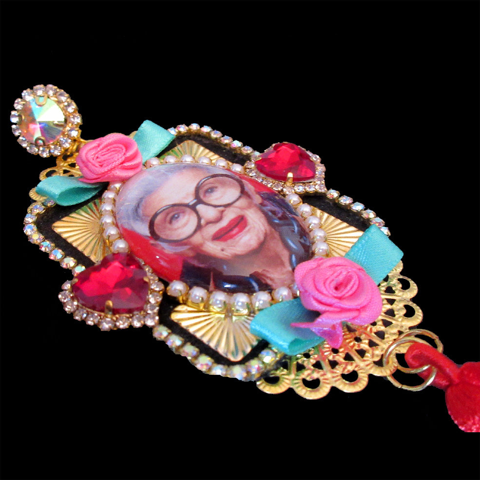 mouchkine jewelry handmade in france more is more irisapfel earrings