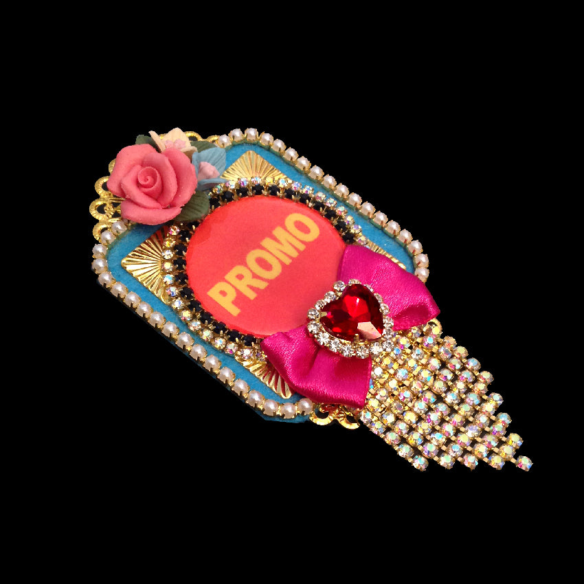 mouchkine jewelry luxury pop culture brooch handmade in france