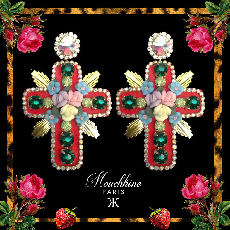 mouchkine jewelry stunning trendy earrings handmade in France
