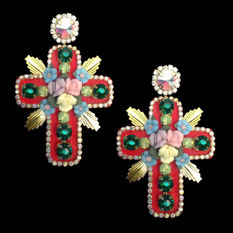 mouchkine jewelry stunning luxury earrings handmade in France