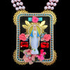 mouchkine jewelry handmade haute couture religious iconic statement madonna necklace.
