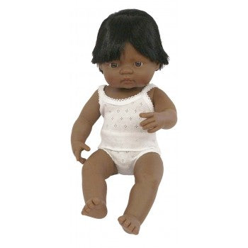 Anatomically Correct Latin Baby Boy 38cm