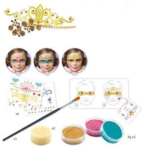 Princesses face paint / Body Art set