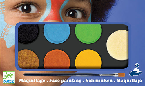 Nature Face paint/ Body Art Palette 6 colours