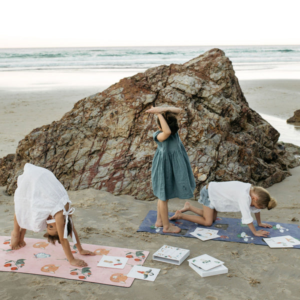 Kids Yoga Mat - Sweet Print - IN STORE COLLECTION