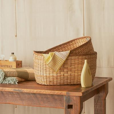 Tuscan laundry basket- Large - IN STORE COLLECTION