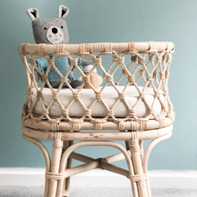 Load image into Gallery viewer, RATTAN DOLL'S BASSINET | IN STORE COLLECTION
