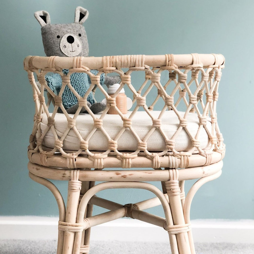 RATTAN DOLL'S BASSINET | IN STORE COLLECTION