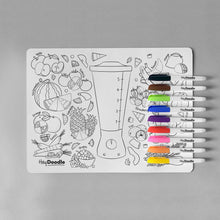Load image into Gallery viewer, BREAKFAST BLEND | Reusable colour-in placemat