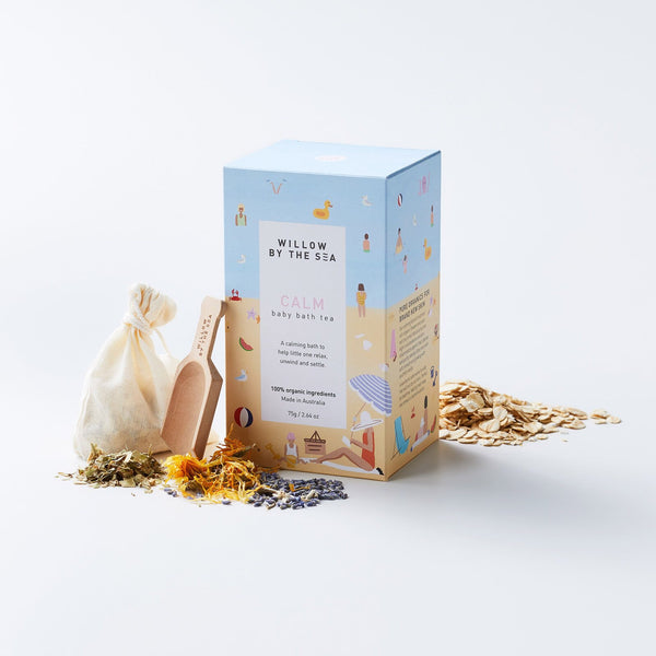 Clam Baby Bath Tea