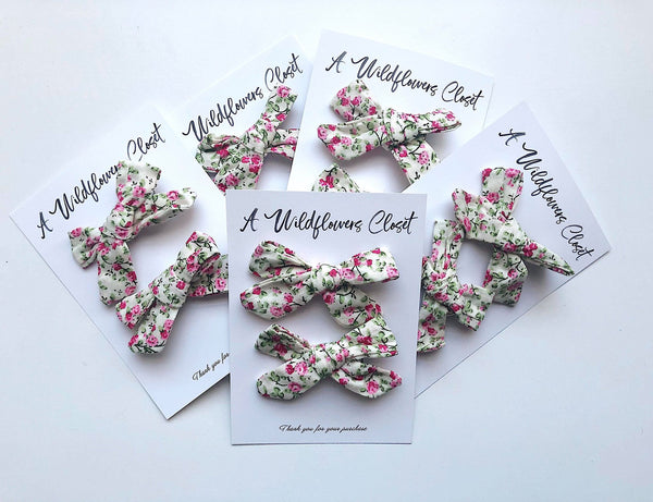 Rosie Hairclip set