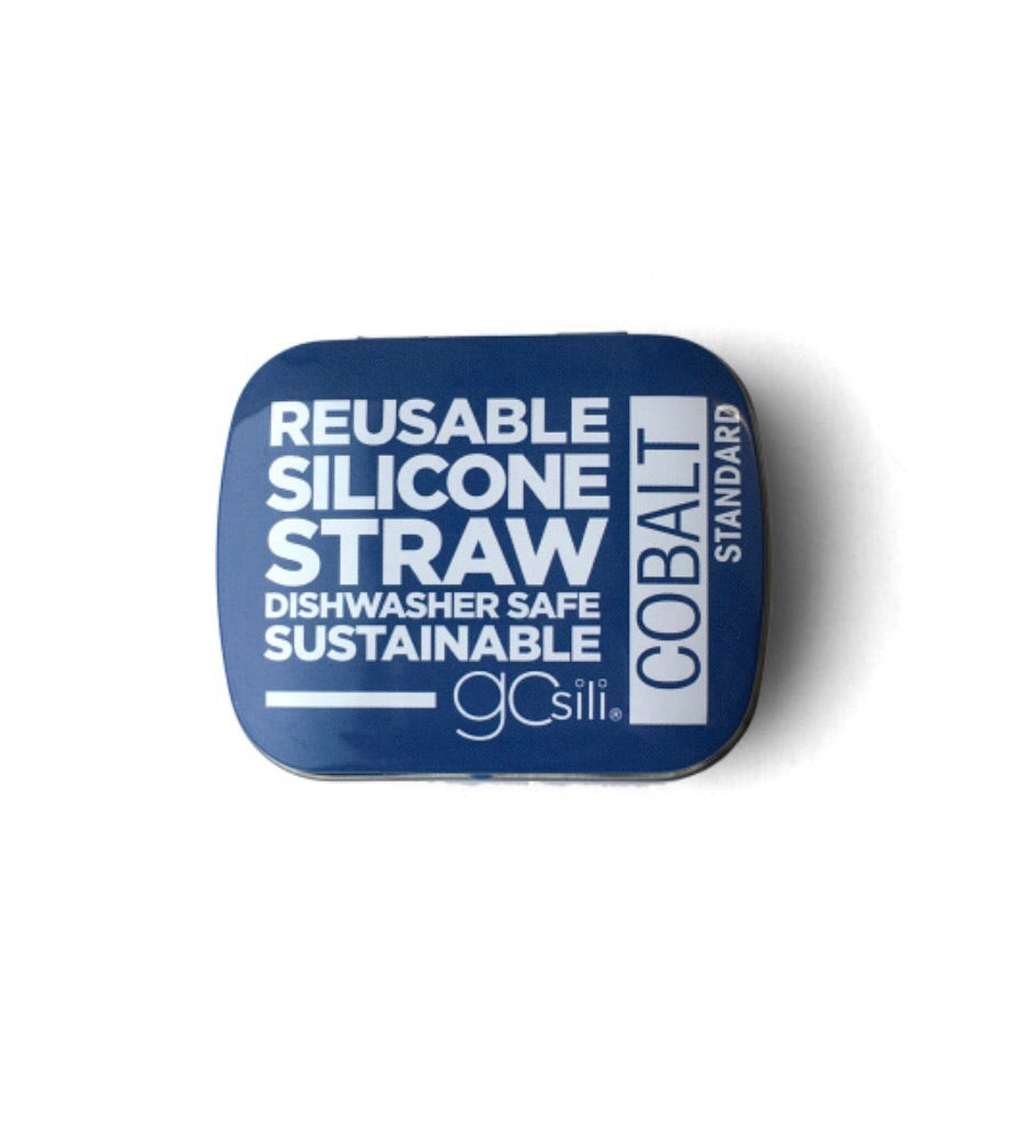 Reusable Silicone Straw With Travel Case