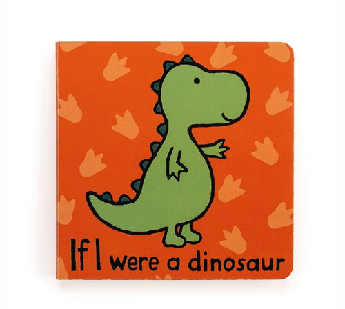 If I Were a Dinosaur Book - Jellycat